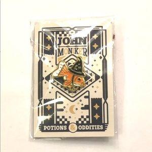 Accessories - John Moniker Wizard Goldfish Lapel Hat Pin Fish